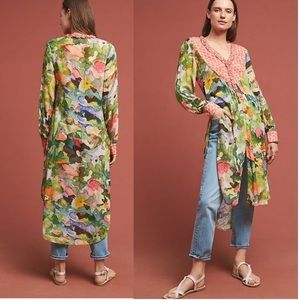 Anthropologie Lucia tunic top